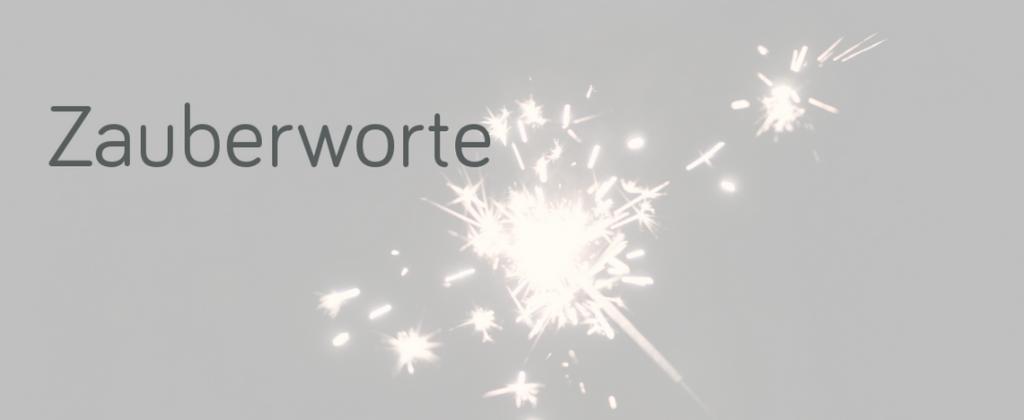 Wunderkerze Zauberworte