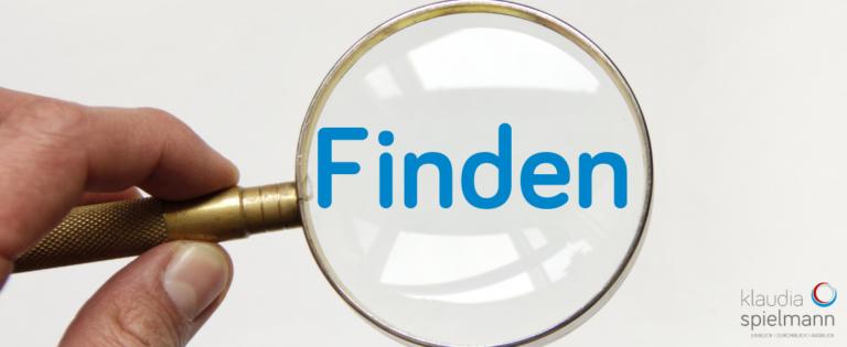 Suchen, Finden, Lupe, Klarheit